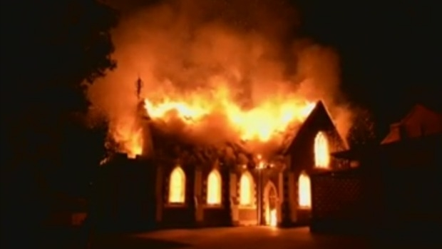 Article image for Geelong mosque at Manifold Heights gutted by suspicious blaze