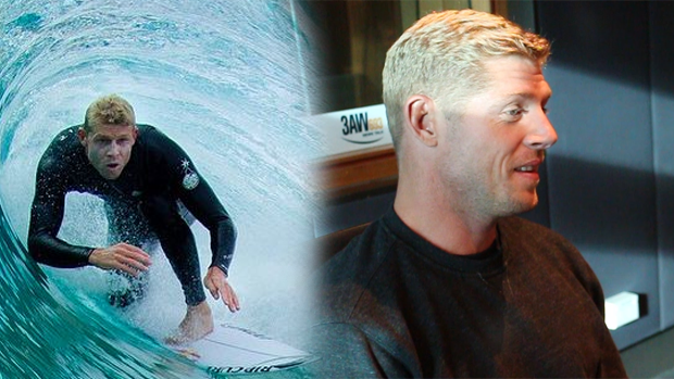 Article image for Mick Fanning in studio with Tom Elliott talking beer and surfing