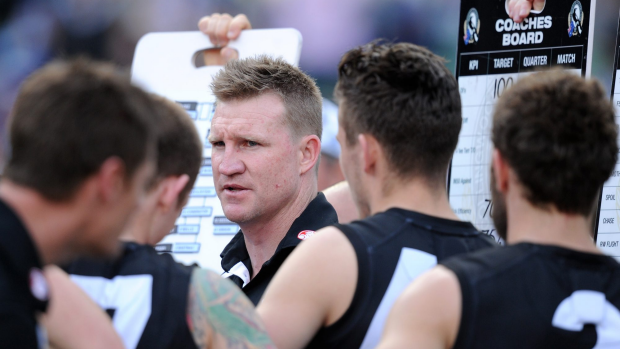 Article image for Nathan Buckley admits players get affected by public discussion