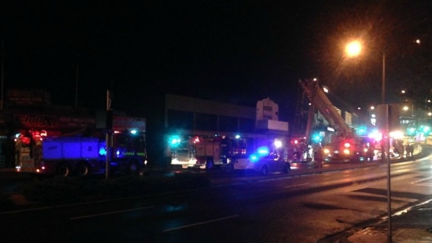 Article image for Dakota nightclub at Ringwood destroyed by fire