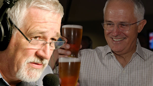Article image for Neil Mitchell questions papers over story on Malcolm Turnbull