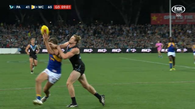 Article image for Tom Jonas handed six-match suspension for hit on Andrew Gaff