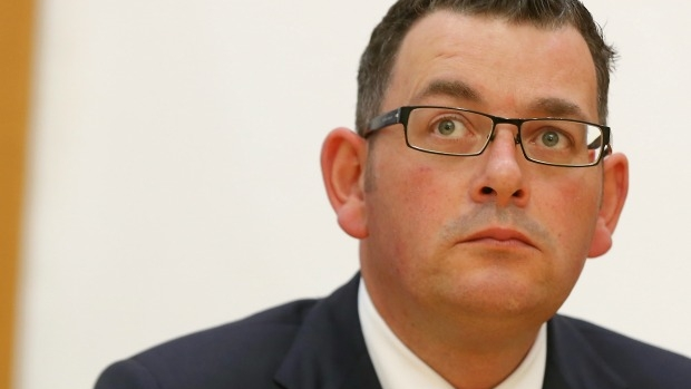 Article image for Liberal MP Andrew Katos wants apology from Daniel Andrews over weight jibe