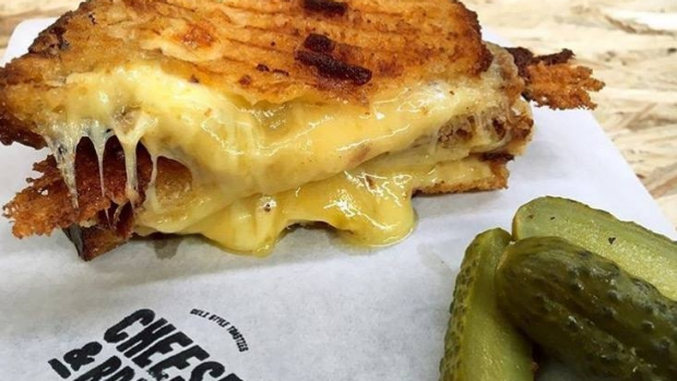 Article image for Craving a cheese toastie? Ross and John found a quick and easy place to get them