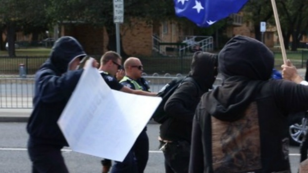Article image for Police to swarm on protests at Coburg
