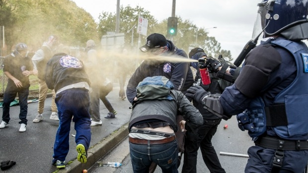 Article image for Moreland City Council under fire for backing Saturday's violent Coburg protest