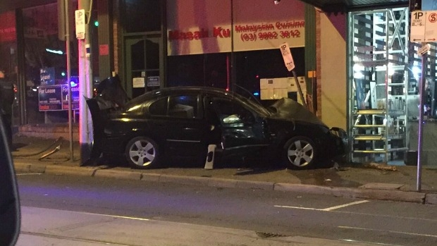 Article image for Man taken to hospital after crash on Burke Road, Camberwell