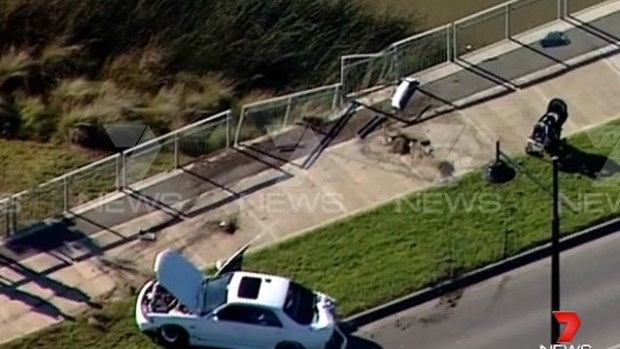 Article image for Out-of-control car hits pedestrians with pram at Craigieburn