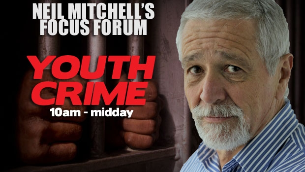 Article image for 3AW FOCUS FORUM: Neil Mitchell explores the issue of Youth Crime