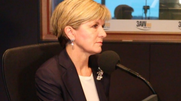 Article image for Julie Bishop's 'gotcha moment' with Neil Mitchell on 3AW Mornings