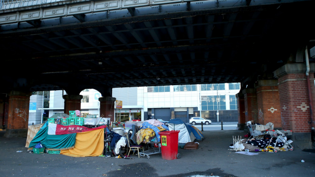 Article image for IDEAS FACTORY: Pop-up shelters to house Melbourne's homeless