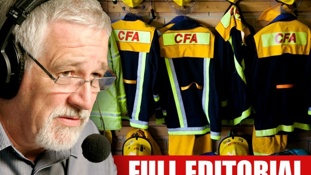 Article image for Neil Mitchell says volunteer firefighters have been 'dudded' by 'mad dog' union