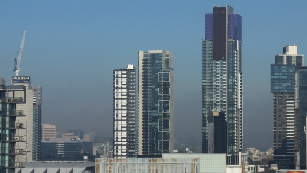 Article image for Melbourne's foggy winter day