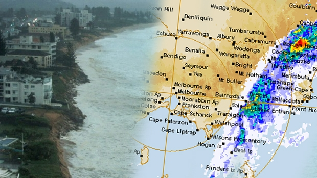 Article image for Large storm expected to hit Victoria later today