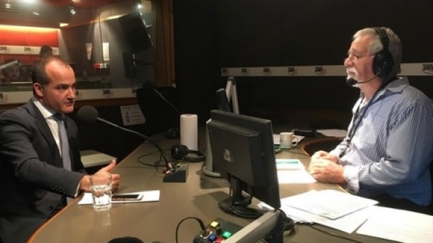 Article image for Deputy Premier James Merlino in studio with Neil Mitchell to discuss the CFA dispute