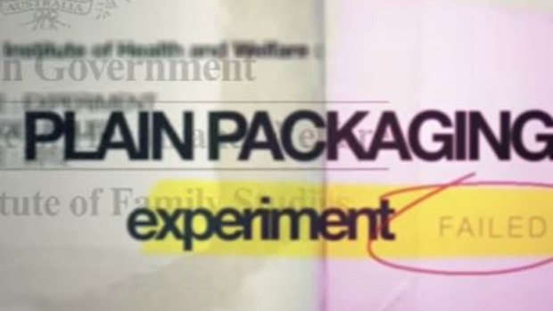 Article image for Anti-plain packaging ads attempt Aussie accent