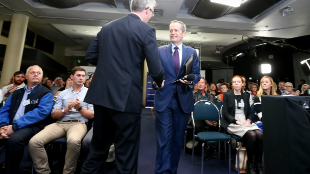 Article image for Shadow Assistant Treasurer Andrew Leigh fields questions on Labor's tampon tax 'backflip'