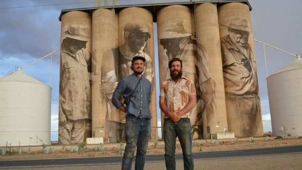 Article image for 3AW Breakfast find out about the Silo Art Trail in Victoria's northwest