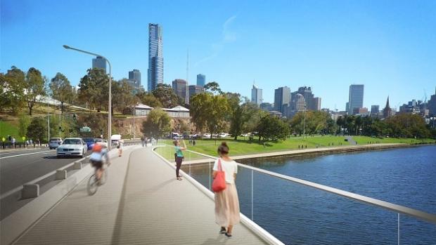 Article image for PICTURES: Swan Street Bridge revamp