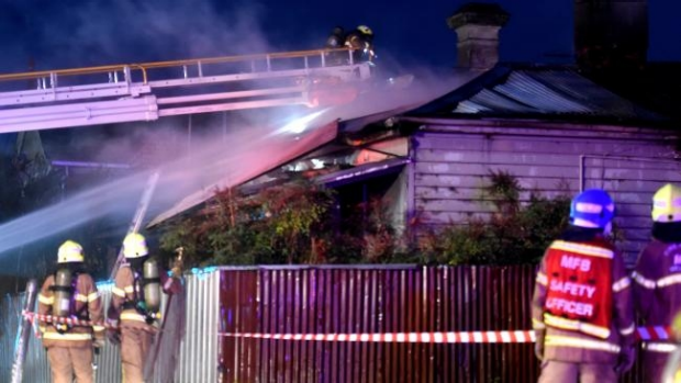 Article image for Brunswick home destroyed by fire, same street made famous by Beyonc?