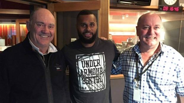 Article image for Australian basketballer Patty Mills joins Ross and John in studio