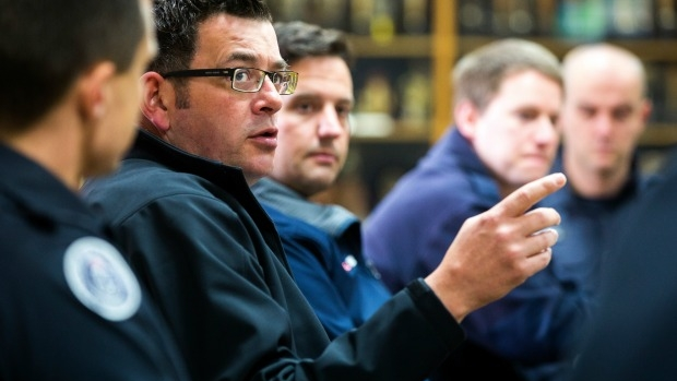 Article image for Daniel Andrews calls for calm, as UFU member investigated over assault claims