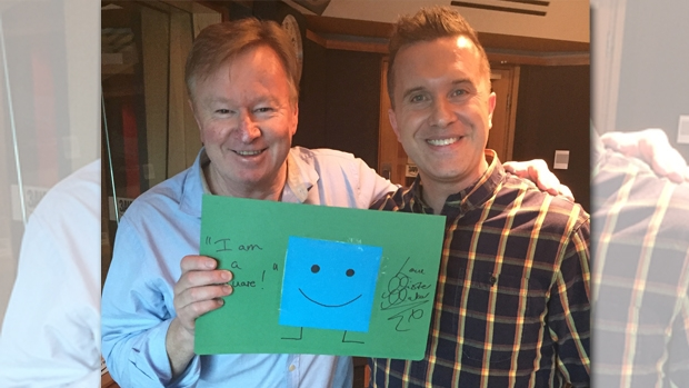 Article image for Mister Maker aka Phil Gallagher in studio with Denis Walter