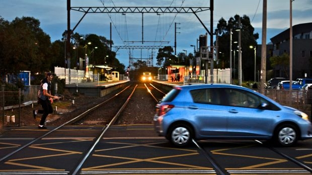 Article image for Public transport disrupted as level crossings work begins