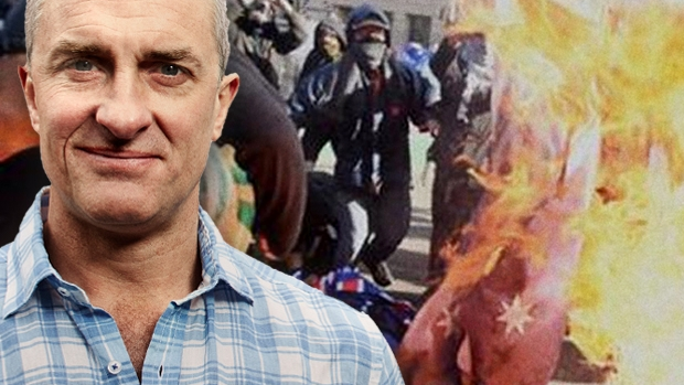 Article image for Tom Elliott is furious over Sunday's flag burning incident