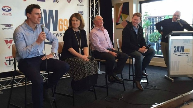 Article image for VIDEO: 3AW Football sponsors lunch