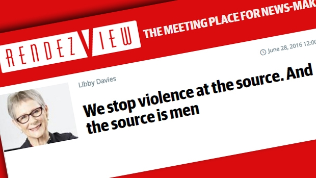 Article image for White Ribbon CEO claims men are the source of domestic violence