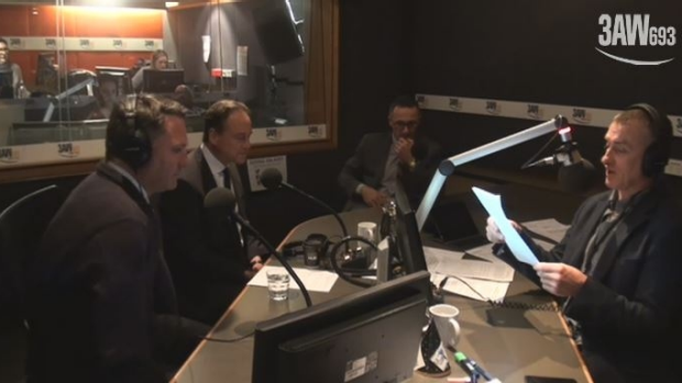 Article image for Tom Elliott hosts a debate with Richard Di Natale, Richard Marles and Greg Hunt