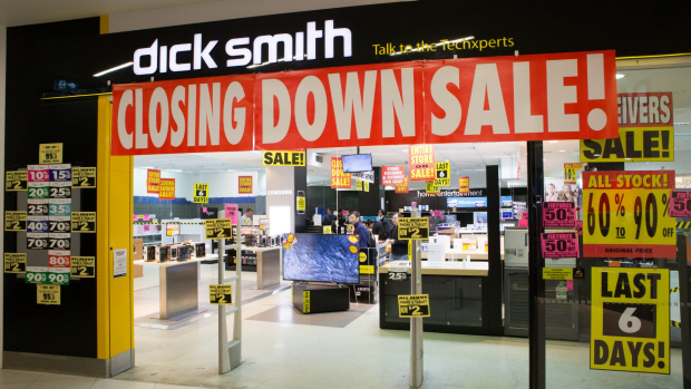 Article image for Dick Smith's rapid fall