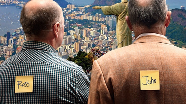 Article image for Ross and John discover visiting Rio de Janeiro is 'just like visiting the TAB'
