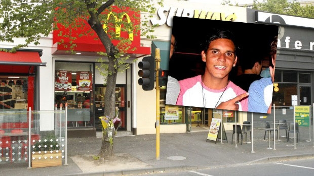 Article image for Kyle Zandipour handed 20-year jail sentence for murdering uni student Joshua Hardy outside St Kilda Road McDonalds