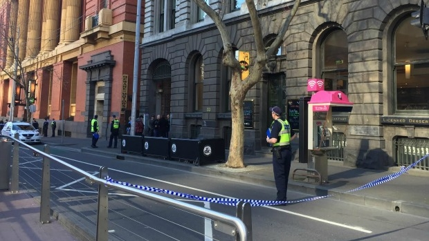 Article image for Woman and child die after falling from balcony on corner of Bourke and Spencer