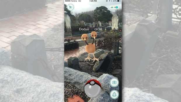 Article image for Pokemon Go being played in cemeteries around Melbourne