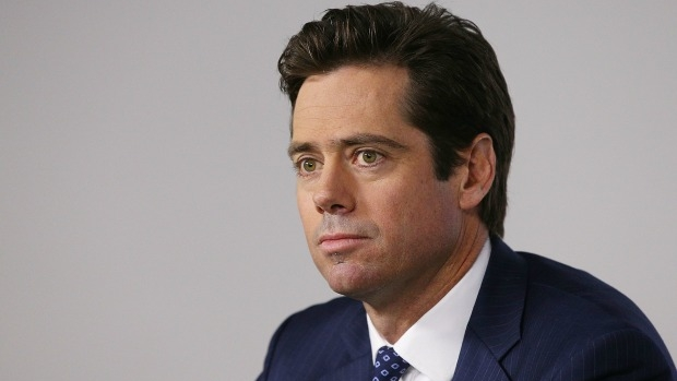Article image for Gillon McLachlan says umpires are not to blame for Hawthorn's win over Sydney