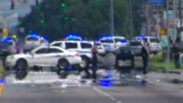 Article image for Three police officers shot dead at Baton Rouge, Louisiana