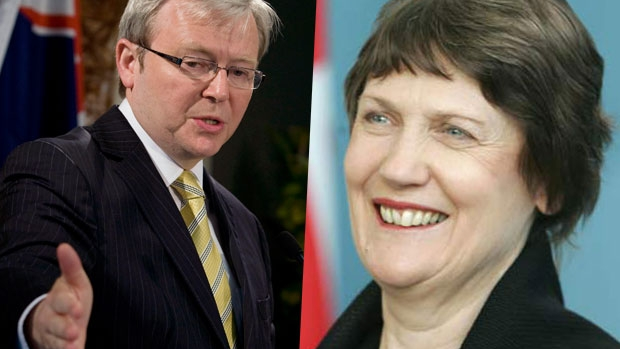 Article image for Kiwi urges UN to choose Helen Clark over Kevin Rudd as Secretary-General