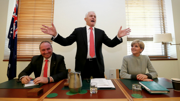 Article image for PM Malcolm Turnbull has unveiled his new cabinet