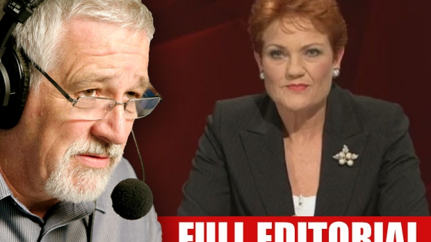 Article image for Neil Mitchell says Australia needs to learn how to handle Pauline Hanson
