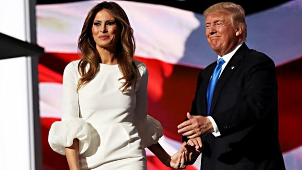 Article image for Melania Trump caught copying a speech by Michelle Obama