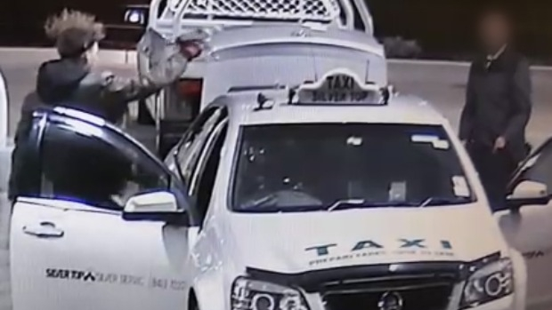 Article image for CCTV footage captures disturbing incident with cab driver at Tarneit service station
