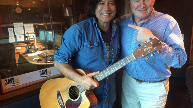 Article image for Guitar great Phil Ceberano on 3AW Afternoons