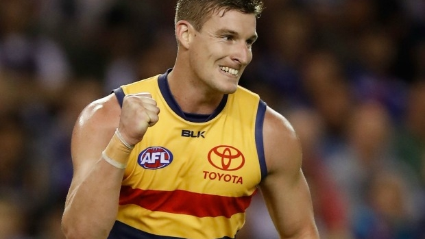 Article image for Josh Jenkins signs five-year deal to stay with Adelaide Crows