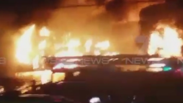 Article image for Campbellfield factory on Sydney Road destroyed by fire