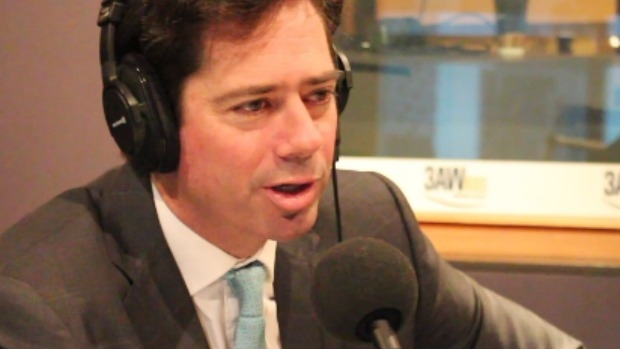 Article image for AFL boss Gillon McLachlan says Good Friday football still '50-50′ in 2017