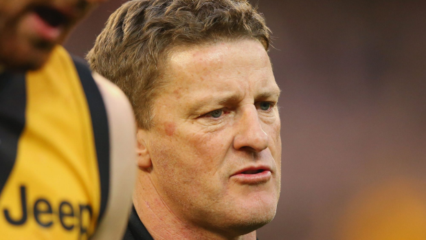 Article image for Richmond fans want coach Damien Hardwick sacked after embarrassing loss