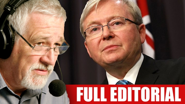 Article image for Neil Mitchell slams Australian politicians who backed Kevin Rudd's UN bid